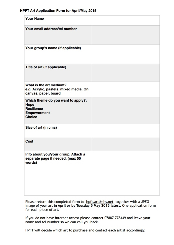 HPFT Form 2