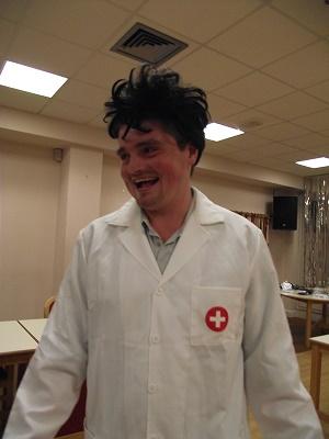 Ben plays Dr Potato