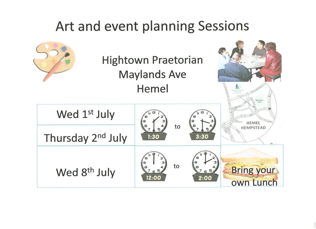 art and event planning info